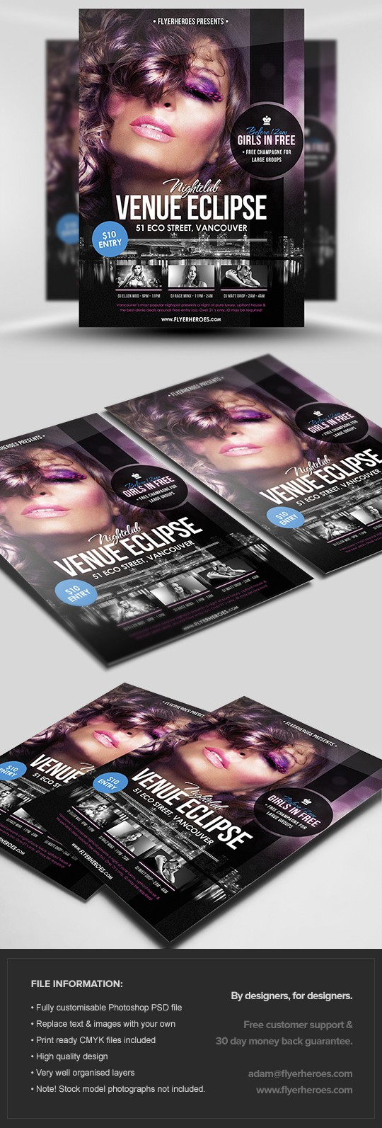 Venue Eclipse Flyer Template