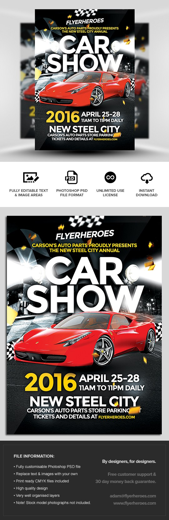 doc car flyers auto s flyer template car s psd car show flyer template flyerheroes car flyers