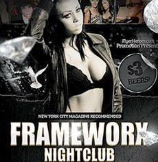 Frameworx 3 Flyer Template