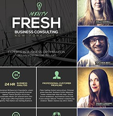 Multipurpose A3 Business Poster Template 2