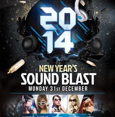 New Year's Sound Blast Flyer Template