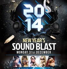 New Year's Sound Blast Flyer Template