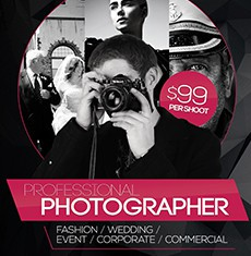 Photography Flyer Templates Set 1