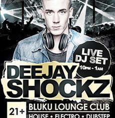 Shockz DJ Flyer Template