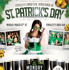 St. Patrick's Day Flyer Template 2