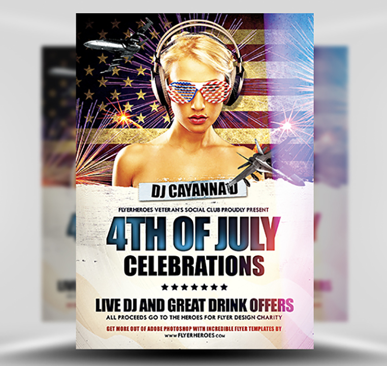 4th PSD Flyer Template