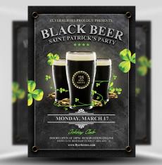 Black Beer Saint Patrick Party 1