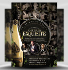 Exquisite PSD Flyer Template 1