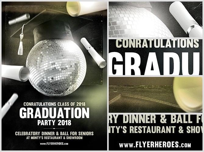 school graduation program template