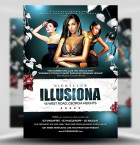 Illusiona PSD Flyer Template 1