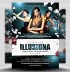 Illusiona PSD Flyer Template 1