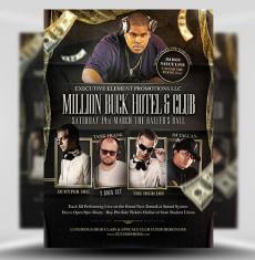 Million Buck PSD Flyer Template 1
