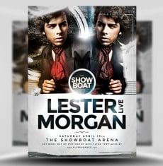Morgan PSD Flyer Template 1