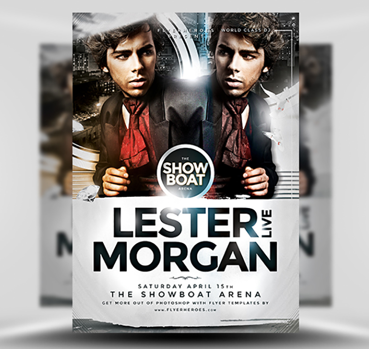 Morgan PSD Flyer Template 1