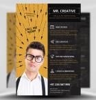 Mr Creative PSD Flyer Template 1