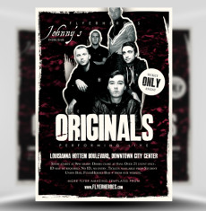 Indie / Rock Band Flyer Templates for Photoshop - FlyerHeroes