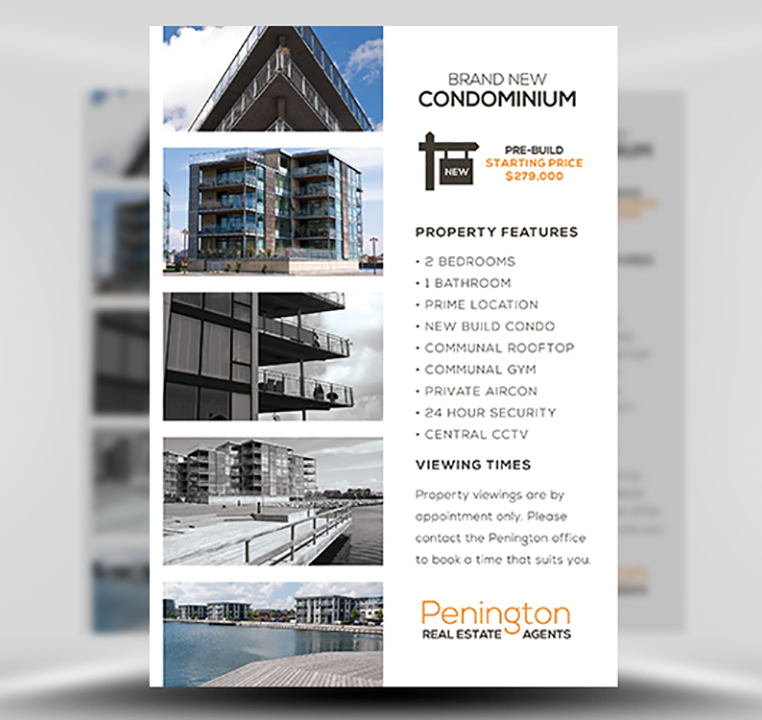 Penington Real Estate PSD Flyer Template 1