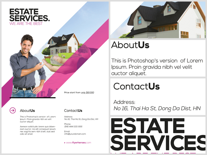 Realtor Flyer Template - FlyerHeroes