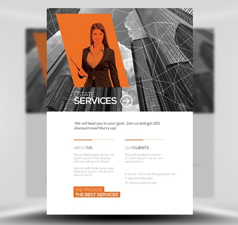 Multiuse Corporate Flyer Template FlyerHeroes – Corporate Flyer Template