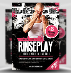 Rinseplay Flyer Template 1