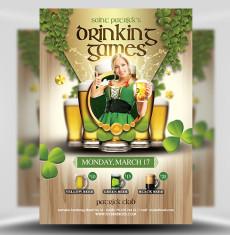 Saint Patrick's Drinking Games 1