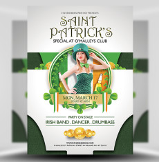 Saint Patrick's Special at O'malleys 1
