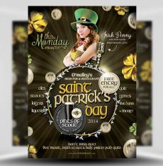 St Patrick's Day PSD Flyer Template 1