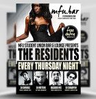 The Residents PSD Flyer Template 1