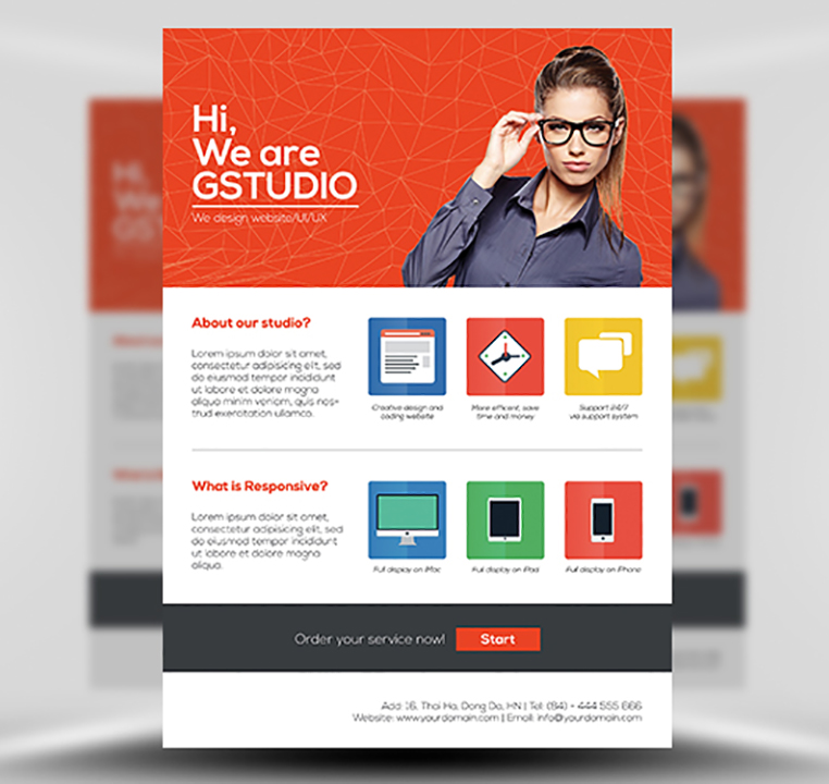Make A Flyer Template - Hlwhy