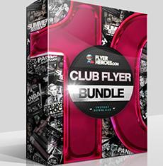 The Club Flyer Bundle 10