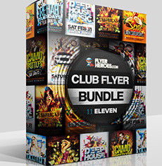 The Club Flyer Bundle 11
