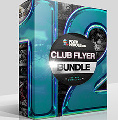The Club Flyer Bundle 12