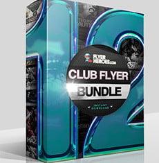 The Club Flyer Bundle 12