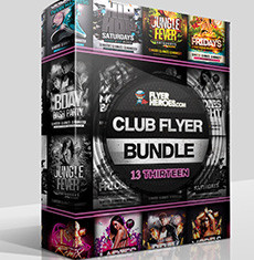 The Club Flyer Bundle 13