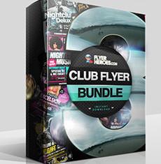 The Club Flyer Bundle 3