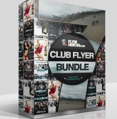 The Club Flyer Bundle 7