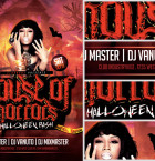 House of Horrors Flyer Template 2