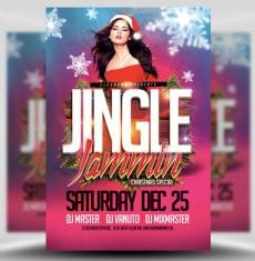 Jingle Jammin Flyer Template 1