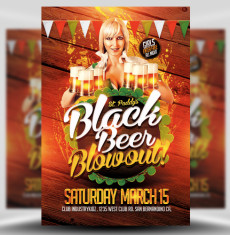 St Patrick's Day Black Beer Blowout 1