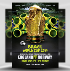 World Cup Flyer Template 3 1