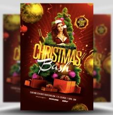 Christmas Bash Flyer Template 1