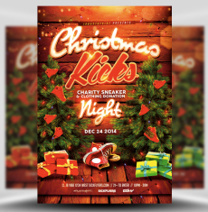 Christmas Flyer Templates for Photoshop - FlyerHeroes