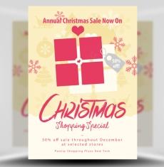Christmas Sale Flyer Template 1