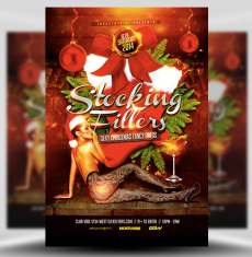 Stocking Fillers Flyer Template 1