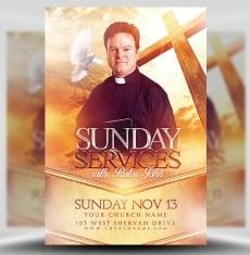 Church Flyer Templates for Photoshop - FlyerHeroes
