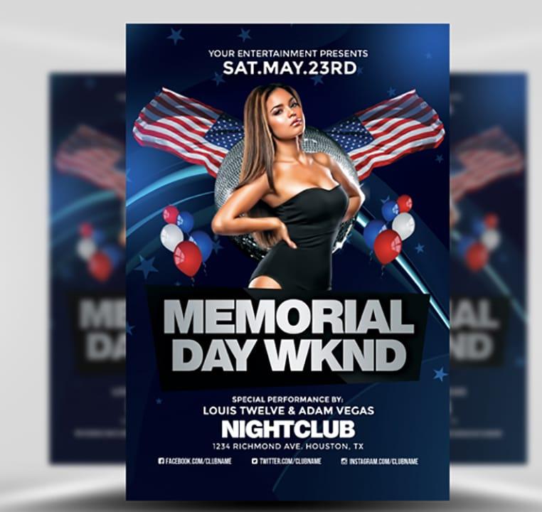 memorial flyers