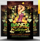 Bandz A Make Her Dance Flyer Template - Included!