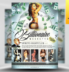 Billionaire Weekends Flyer Template - Included!