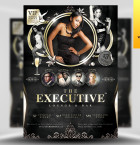 Executive Nightclub Flyer Template - Included!