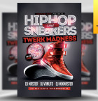 Hip Hop and Sneakers Flyer Template - Included!
